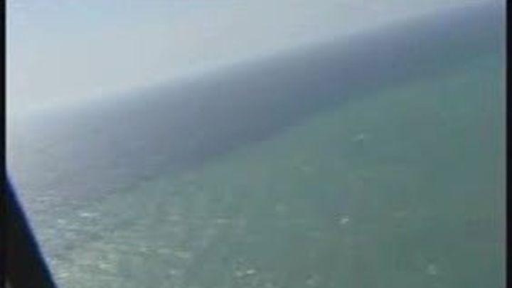 Manchas verdes en las aguas cercanas a la isla de Hierro