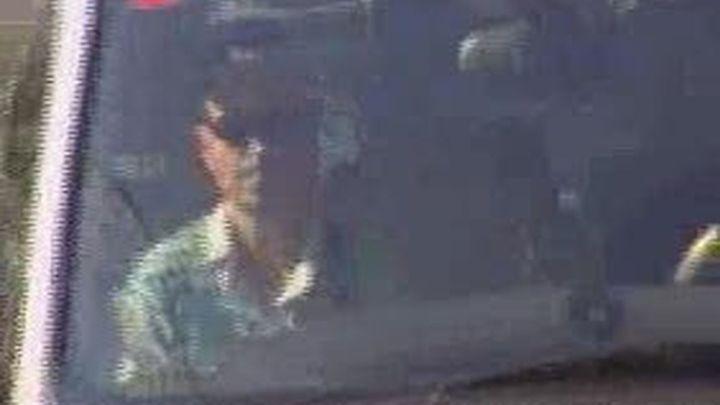 El padre de los niños desaparecidos en Córdoba declara en la comisaría