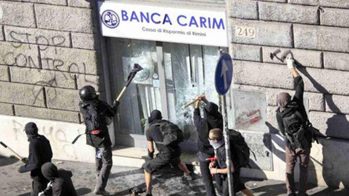 Los violentos que causaron la batalla campal en Roma se entrenaron en Grecia