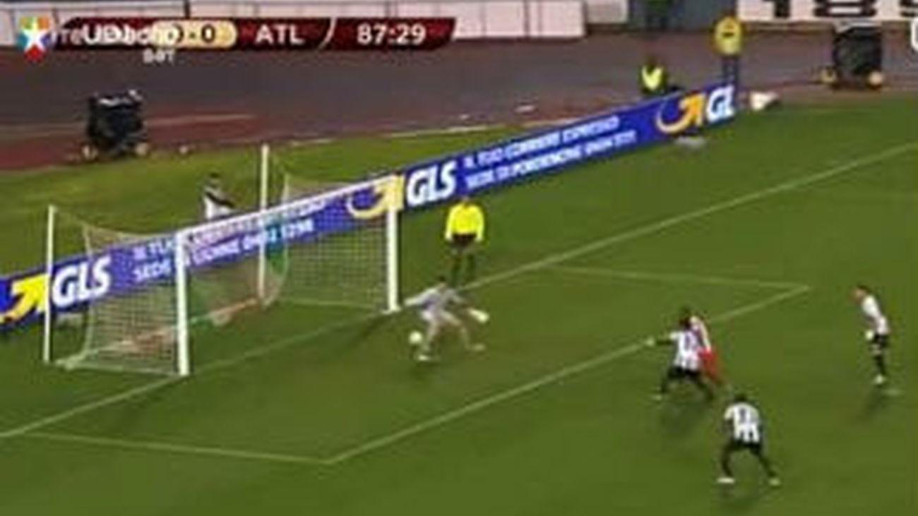 El Atlético cede el liderato ante el Udinese en los últimos cuatro minutos