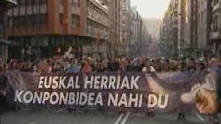 La izquierda abertxale reclama derechos para los presos de ETA en Bilbao