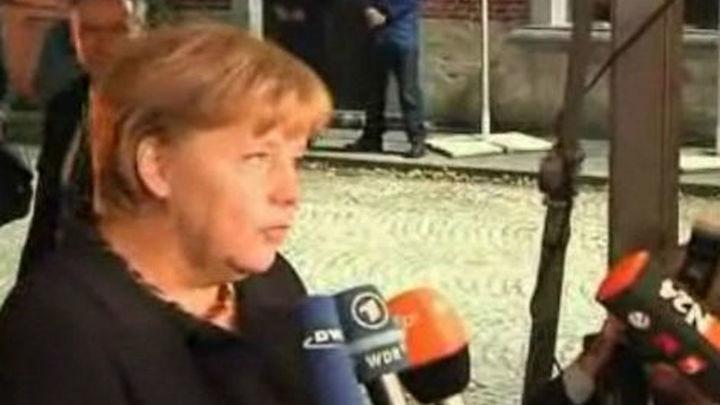 Merkel pide un 'gran esfuerzo' durante otros cinco años para superar la crisis
