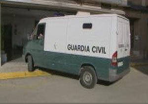 Puesta a disposición judicial del detenido de Castellar
