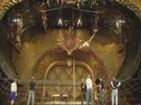El Circo del Sol ensayo para el estreno de Zarkana en Madrid