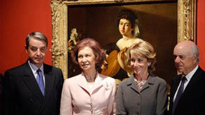 """La Reina Doña Sofía inaugura la exposición """"Los tesoros del Hermitage"""""""