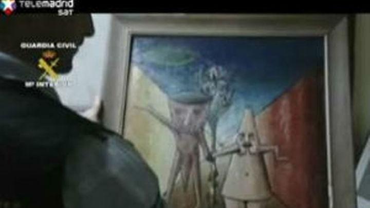 Los detenidos por el robo de los cuadros son familia directa del denunciante