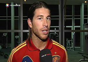 Sergio Ramos defiende en Telemadrid el estilo de juego de España