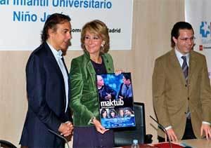 Comunidad y Fundación Alina reformarán la unidad de trasplantes de médula del hospital Niño Jesús