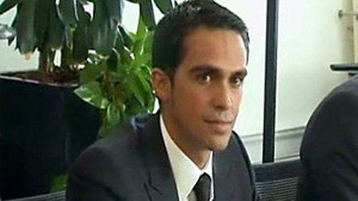 Alberto Contador defiende su inocencia ante el TAS