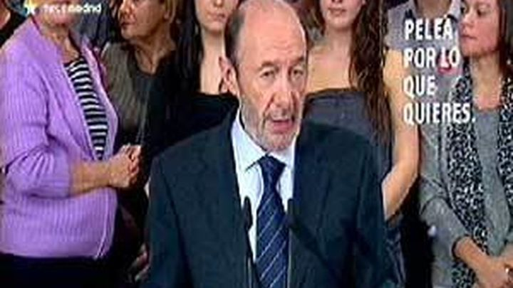 Rubalcaba: He pedido a Zapatero que convoque un Congreso del PSOE lo antes posible