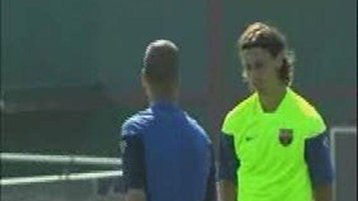 Telemadrid es testigo del reencuentro entre Ibrahimovic y Guardiola