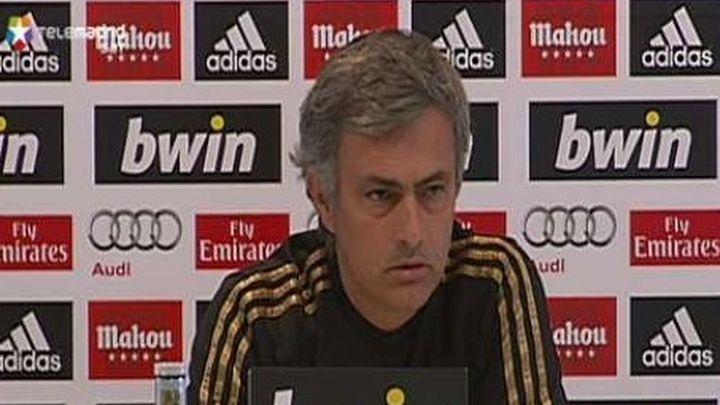 """Mourinho a Manzano: """"Si me dice que la película es muy mala, no voy a verla"""""""