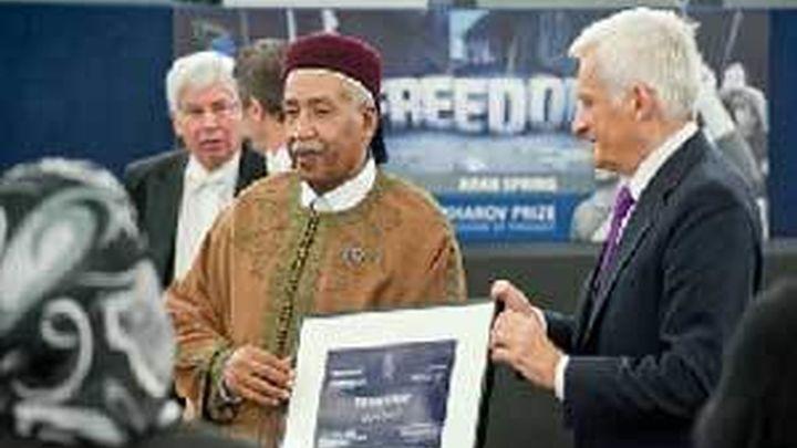 El Parlamento Europeo entrega el premio Sajarov a cinco activistas de la Primavera Arabe