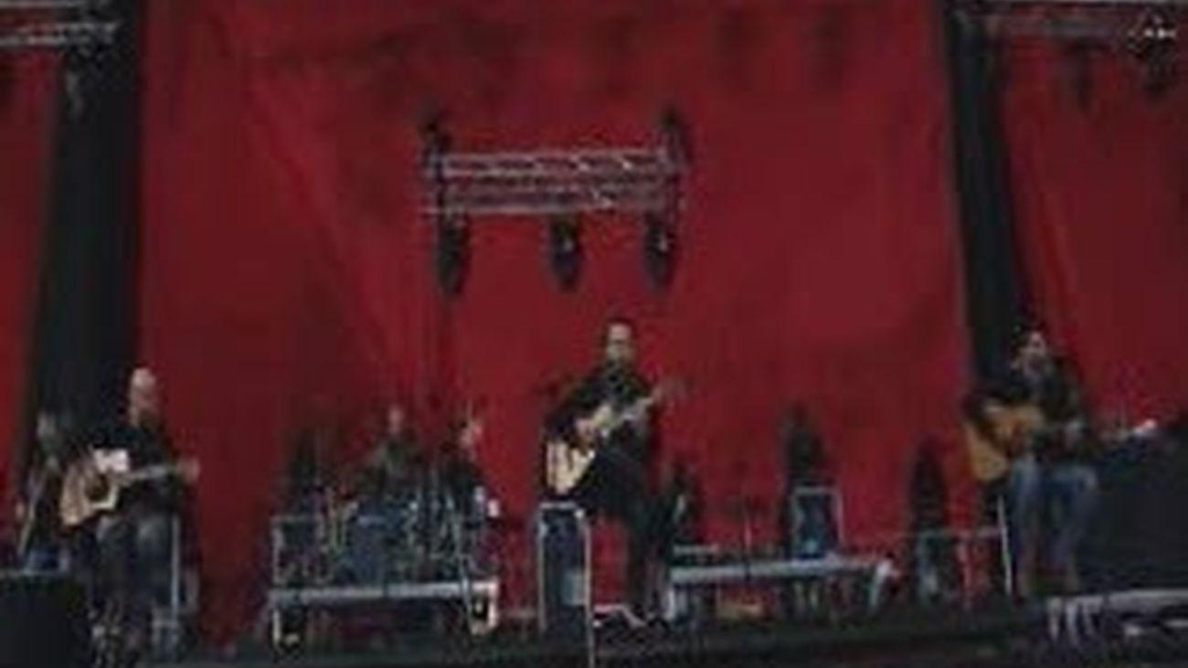 Pablo Alborán ofrece su primer concierto en el Palacio de los Deportes