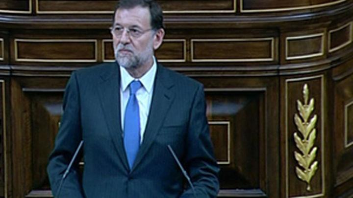 Rajoy investido como Presidente del Gobierno