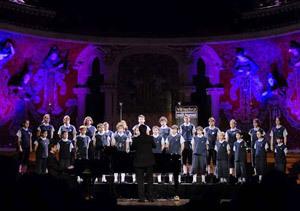 Los niños del coro, en Madrid