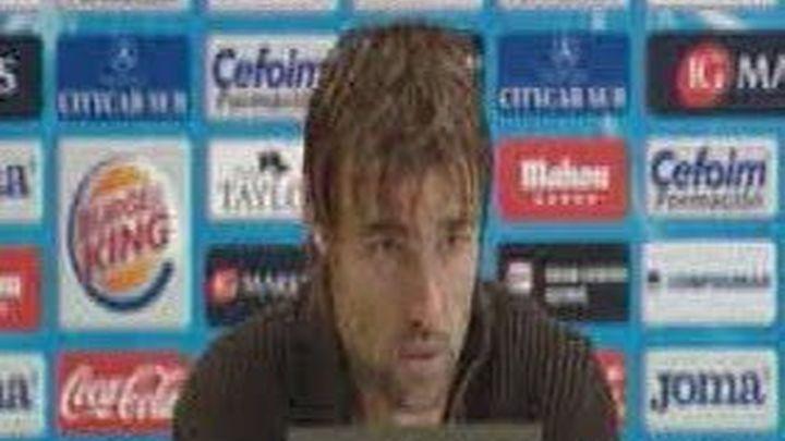 """Valera: """"Si ganamos al Athletic, nos alejamos de la zona baja"""""""