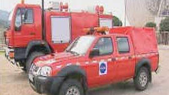 La NASA y la Comunidad de Madrid intercambian sendos vehículos para la extinción de incendios