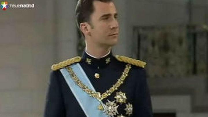 El príncipe Felipe, primero en recibir  el Toisón de Oro