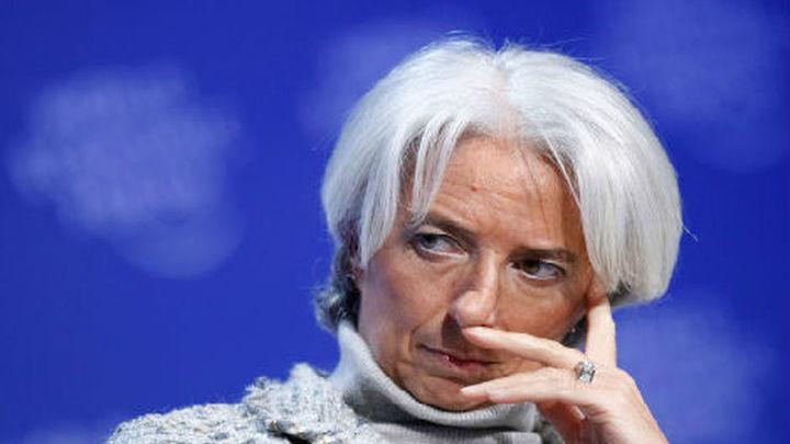 """Lagarde dice que la bajada del paro en España es """"el principio de un proceso"""""""