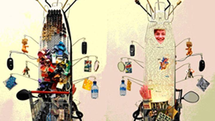 El Cervantes de Tokio se reviste con el reciclaje creativo de Drap-Art