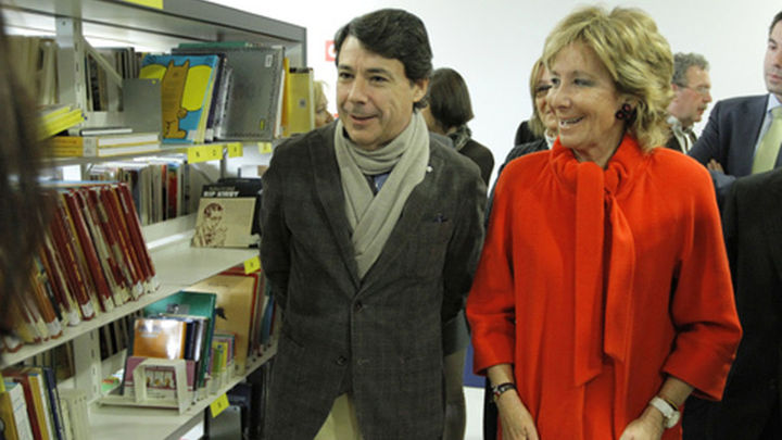 Aguirre inaugura una biblioteca en Tres Cantos con capacidad para más de 80.000 volúmenes