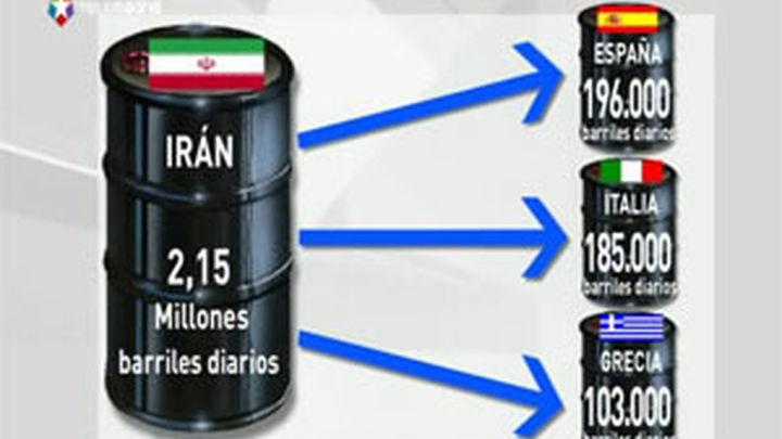 Los países de la UE acuerdan vetar las importaciones de crudo iraní