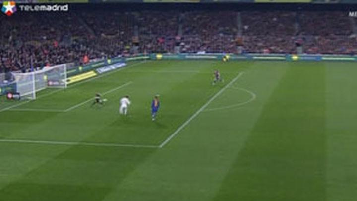 Así sí, la afición madridista aprueba el juego del equipo blanco en el Nou Camp