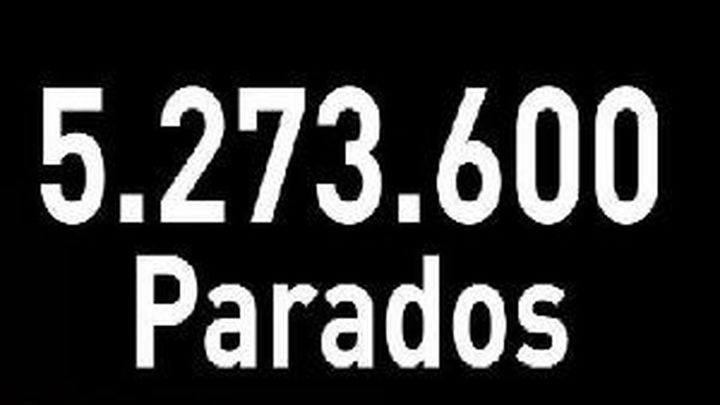 El número de parados llegó a los 5.273.600 al cierre de 2011
