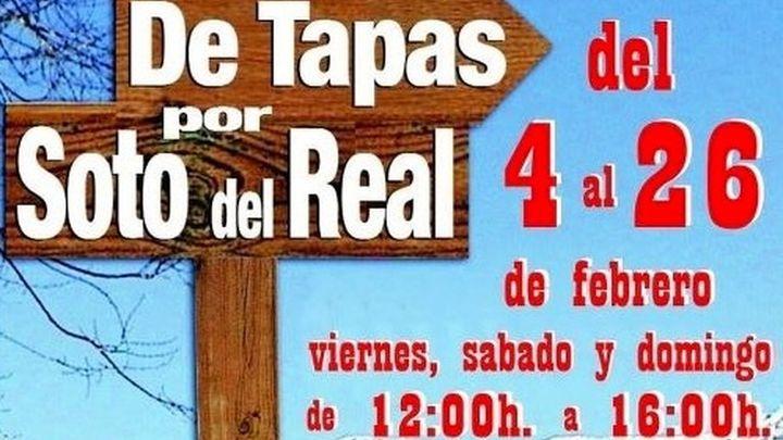"""""""De Tapas por Soto del Real"""" celebra su III edición"""