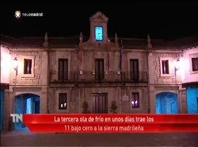 La ola de frío vuelve a golpear Madrid