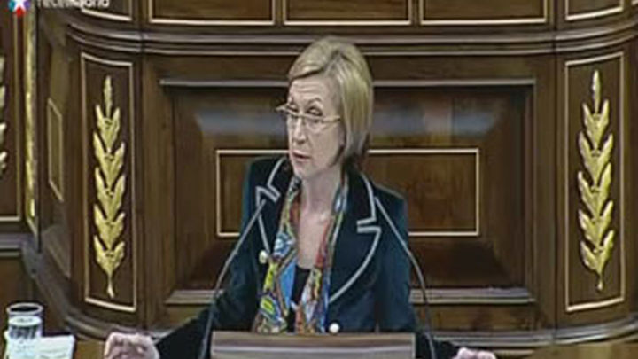 "Rosa Díez tilda de ""cobardía"" a Interior por no tratar de ilegalizar Amaiur"