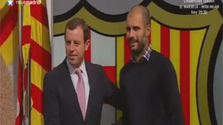 La renovación de Guardiola siembra de incertibumbre al barcelonismo