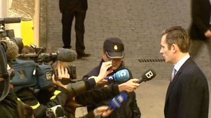 La Fiscalía estudia pedir una fianza de al menos dos millones a Urdangarín