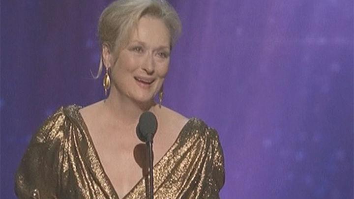 Meryl Streep gana el Oscar a la mejor actriz