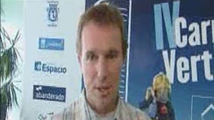 David Meca será bombero por un día en Torre Espacio