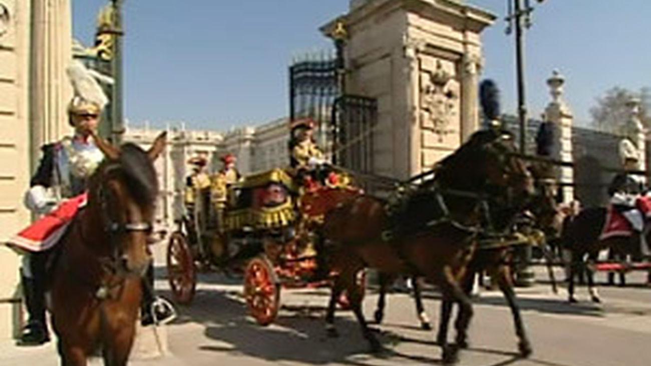 Desfile de gala en Madrid