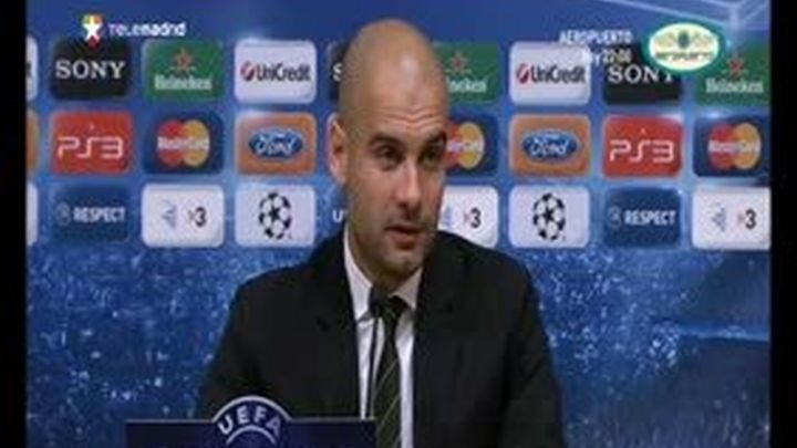 """Guardiola: """"El trono pertenece a Messi, y solo él decidirá cuando dejarlo"""""""