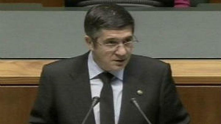 """López pide que todos reclamen la disolución definitiva de ETA """"sin ninguna contraprestación"""""""