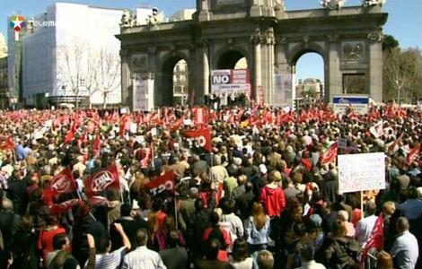 Manifestaciones sindicales