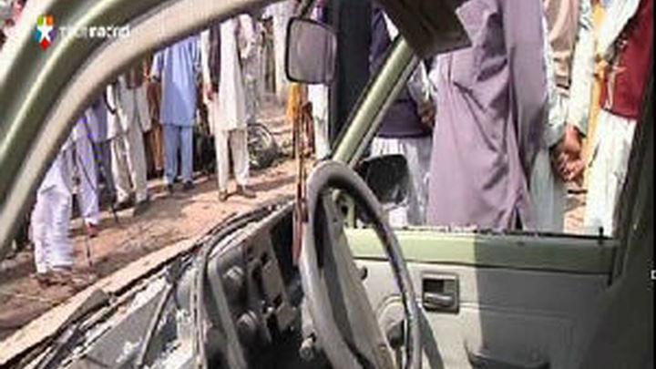 Al menos diez muertos en un atentado en Paquistán