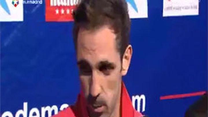 """Juanfran: """"He trabajado mucho para que llegasen estos días"""""""