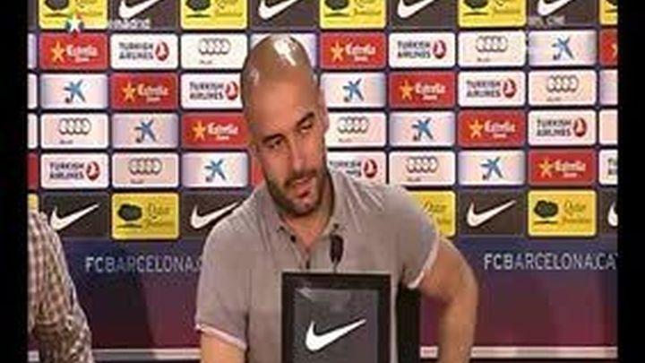 """Guardiola a Abidal: """"Decidirás cuándo jugar y cuándo no, estarás siempre del 1 al 11"""""""