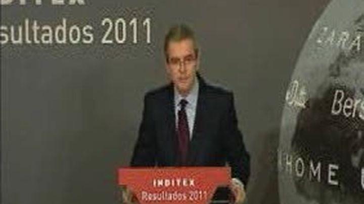 El presidente de Inditex se encara con un periodista