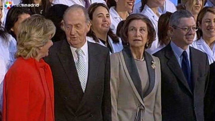Los Reyes inauguran el Hospital Rey Juan Carlos de Móstoles
