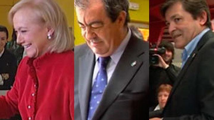 El PSOE gana en Asturias, pero Foro y PP mantienen la mayoría para gobernar