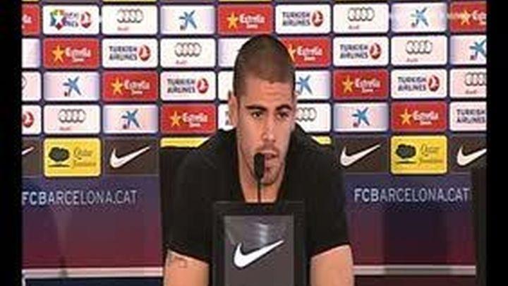 Valdés cree que la presión en la Liga es equiparable para Barça y Real Madrid