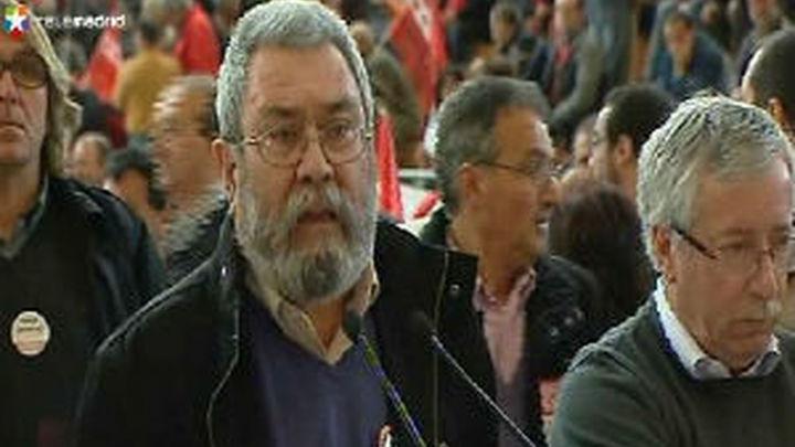 """Toxo y Méndez piden """"reflexión"""" al Gobierno  tras los resultados electorales"""