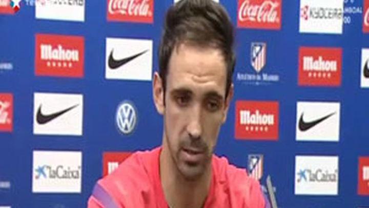 """Juanfran: """"Nos jugamos mucho en los próximos tres partidos"""""""