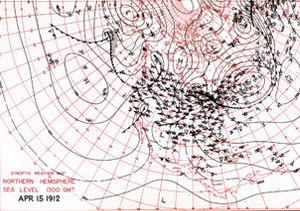 Mapa Titanic meteo
